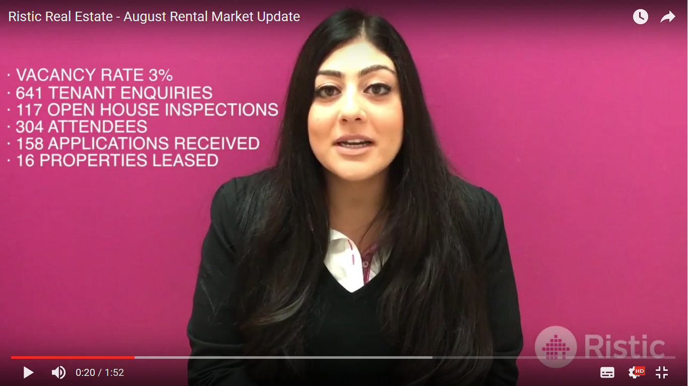 August Rental Market Update